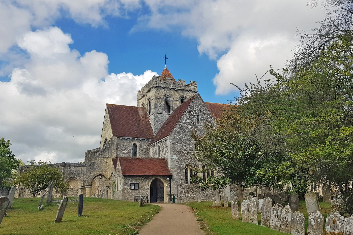 12th century Sussex church