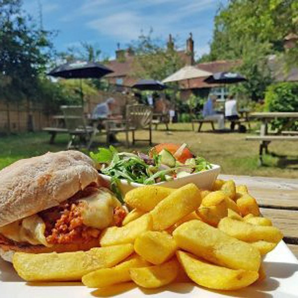 Lunch in a Sussex pub