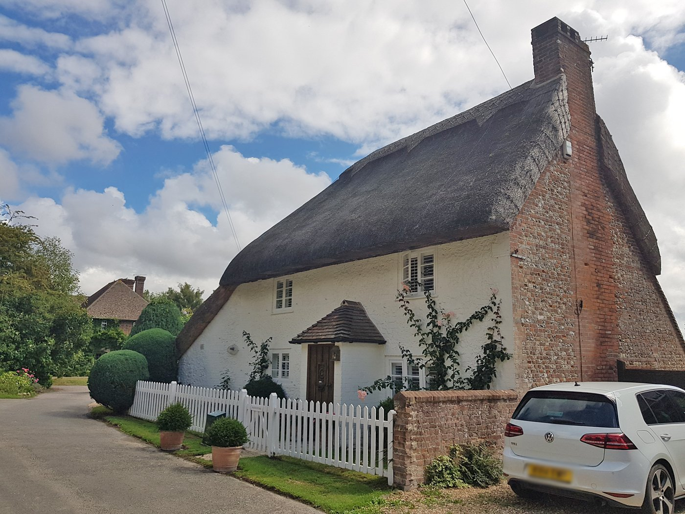 Sussex thatched cottage