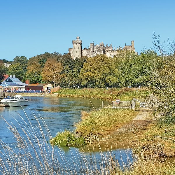 Arundel Castle from the river