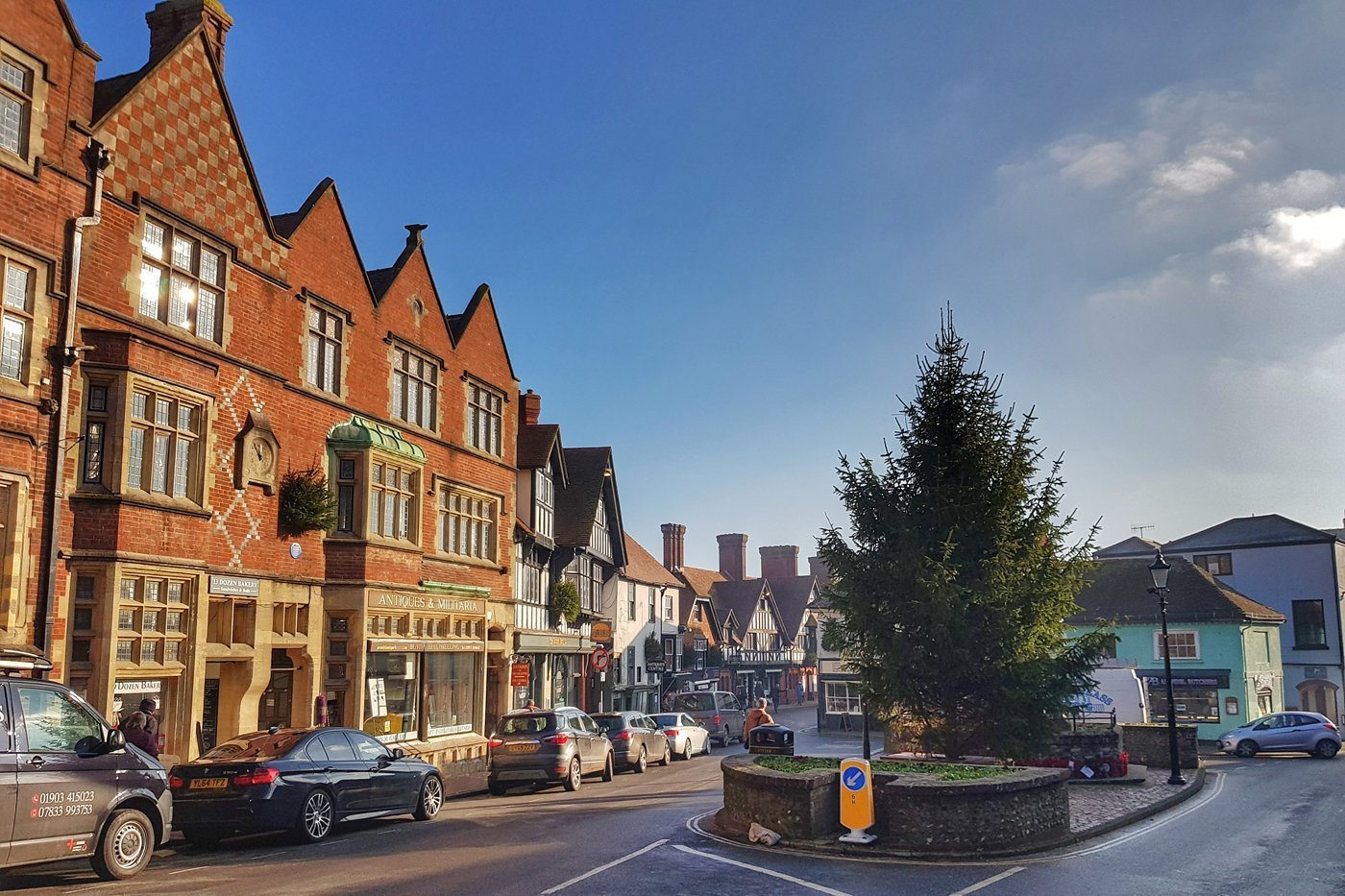 Arundel Square at Christmas